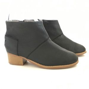 Toms | youth girls black ankle booties 2